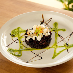 料理メニュー写真黒米&キヌアのサラダ