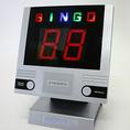 【ビンゴカード&ビンゴマシーン】…忘新年会での定番ゲーム。デジタルビンゴマシーンとご人数分のビンゴカードをご用意させていただきます。「Let's BINGO!!」