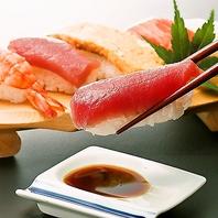 ディナー限定!握り寿司もなんと食べ放題でご提供☆