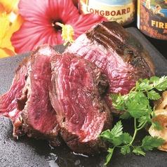 料理メニュー写真牛フィレ肉の溶岩焼き Lava Grilled Beef Tenderloin
