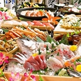 ひとつひとつの手間を惜しまず、素材の旨味を丁寧に引き出した当店自慢のお刺身を、ぜひ一度、ご堪能ください。その他にも新鮮な魚介を使用したお料理を取り揃えております♪