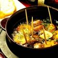 料理メニュー写真プリプリ海老のアヒージョ