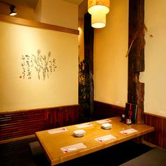 6名様でのご利用にオススメのお席です。温かみある照明と落ち着いた店内がお客様をお迎えいたします。東北地方の食材を贅沢に使用したお料理をお楽しみください。仙台での居酒屋をお探しなら酒楽 一番町へ!