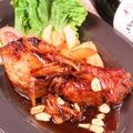 料理メニュー写真漢方三元豚スペアリブ