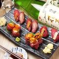 料理メニュー写真本日の馬肉寿司