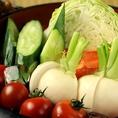 新鮮野菜!!湘南地野菜をふんだんに使用しております◎