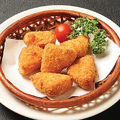 料理メニュー写真チーズフライ/タコから揚げ/若鶏唐揚げ