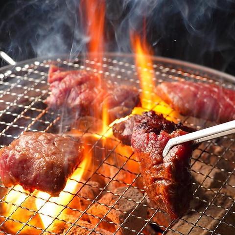 仙台駅東口周辺やKoboスタ帰りならココ!厳選仙台牛・黒毛和牛を愉しむ七輪炭火焼肉!