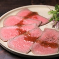 料理メニュー写真【極上メニュー】和牛イチボのローストビーフ