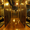 会社宴会に◎!席アレンジ可能で、各お部屋をつなげると最大50名様程度まで対応致します。事前にご相談ください★
