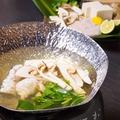 料理メニュー写真【旬の食材】鱧と松茸鍋