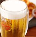 大人気オリオンビール!沖縄から取り寄せたオリオンビールは沖縄料理はもちろん、すべてのメニューに合います!単品飲み放題は1500円/飲み放題付コースは3500円~!ご宴会やサク飲みにぜひ!
