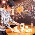 チーズソムリエが厳選したチーズで作る極上のチーズフォンデュソースは格別