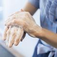【感染症対策実施中!】スタッスは清潔を保つため頻繁な手洗いを実施しております。皆さまが安心してお食事をお楽しみいただけるようスタッフ一同気を付けております。