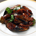 料理メニュー写真茄子の味噌炒め