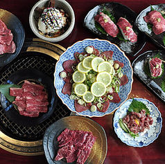 焼肉問屋 飛騨牛専門店 焼肉ジン 熊野店のコース写真