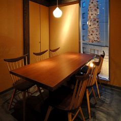 4名様~6名様 テーブル個室