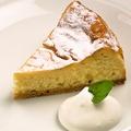 料理メニュー写真カマンベールチーズケーキ
