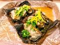 料理メニュー写真牡蠣昆布焼き