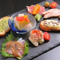 旬の食材を使い丁寧に仕込んだ料理の数々