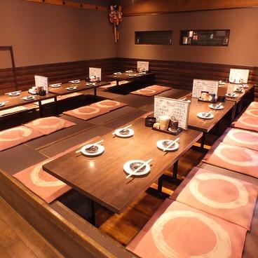 旬肴・魚河岸料理と串揚げの店 たくみの雰囲気1