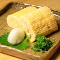 料理メニュー写真<出汁巻き玉子>プレーン