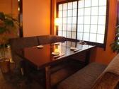 一階テーブル席