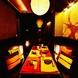 ◆落ち着いた雰囲気の和モダン個室