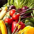 大福のこだわり其の5 ≪野菜≫ 地元千葉県東金市のあいよ農場から仕入れる野菜は獲れたてで珍しい野菜がお楽しみ頂けます。