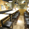 6名様用のテーブル席もご用意!友人同士での飲み会、女子会などにもピッタリです◎おしゃれな店内でお食事を心ゆくまで、お楽しみください。