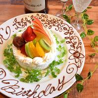 【誕生日・記念日に】デザートプレートプレゼント♪