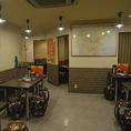 【1階】屋台風店内…奥に個室もございます