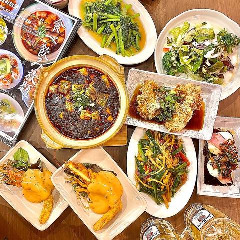 20品食べ飲み放題はコスパ最強!!熟練料理人の絶品中華が堪能できるラーメン居酒屋。
