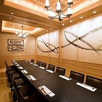 高座椅子(足付きの座椅子)の個室は最大16名まで。ご家族の集まりにもぴったり。