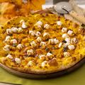 料理メニュー写真パンプキンとマシュマロのピッツァ