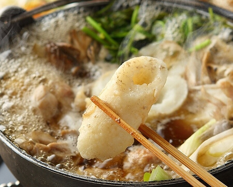 日本三大地鶏の「比内地鶏」が食べられる名店★きりたんぽ鍋等の秋田料理が自慢