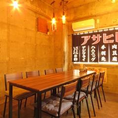 強三201号室は4名様から最大12名様までご利用いただける完全個室の空間となっております!人気の個室となっておりますのでご予約はお早目にお願いいたします!