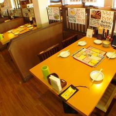 お子様連れ大歓迎のお店★ゆっくりと過ごせる広々店内は、テーブル席やお座敷席があり、家族団らんの場としてお寛ぎ頂けます♪