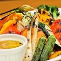 料理メニュー写真7種の野菜のグリル バーニャカウダソース添え