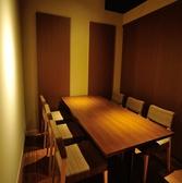 4~6名様向けテーブル半個室席