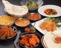 本場コックによる本格インド料理