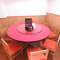 4名様~10名様までご利用いただける円卓の個室をご用意いたしておりま(要予約)。会社接待、ご家族での会食、女子会、同窓会などにご利用ください!