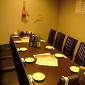 新しくできたテーブル完全個室です