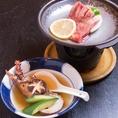 お料理のみ5500円(税込)コース一例
