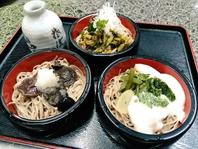 【昼の部メニュー】「割子蕎麦」1550円/小盛1400円