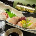 料理メニュー写真鮮魚の刺身盛り合わせ 三点