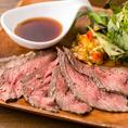 鹿児島黒牛を使用した肉料理をはじめ、旬の食材を使用した創作料理など、幅広いメニューをご用意しております。味はもちろん見た目にもこだわった逸品を是非ご賞味下さい。