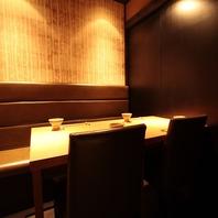 大人の空間 雰囲気抜群の竹の庵自慢の完全個室
