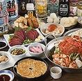 鉄鍋餃子・もつ鍋を堪能できる博多宴会コースは3,000円から♪