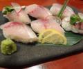 料理メニュー写真旬の握り寿司 (6カン)